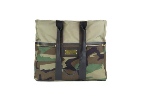 Sword & Plough Camo Signature Zip Top Tote Bag