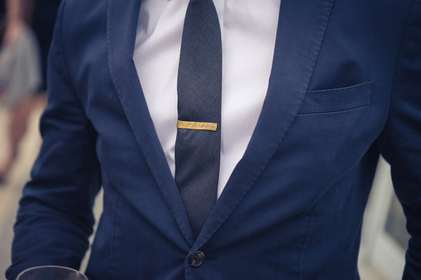Sword & Plough | BRASS 50 CALIBER TIE BAR