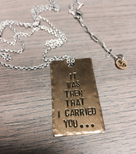 NLS Jewelry | Tag Necklace