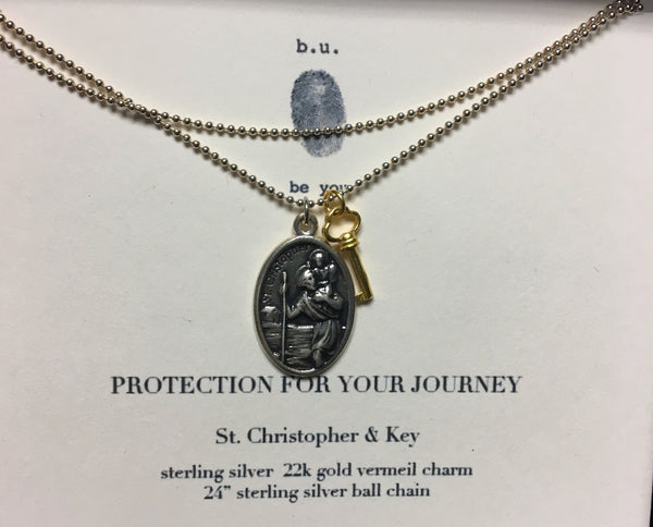 b.u. jewelry | Protection for Your Journey Necklace