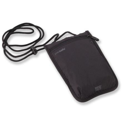 Pacsafe RFIDsafe™ 75 RFID-blocking neck pouch