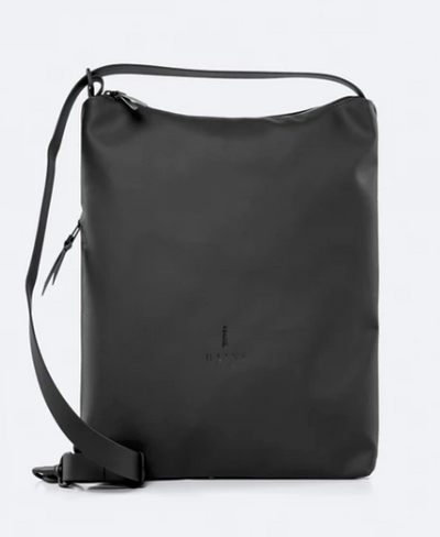 Waterproof Black Sling Bag