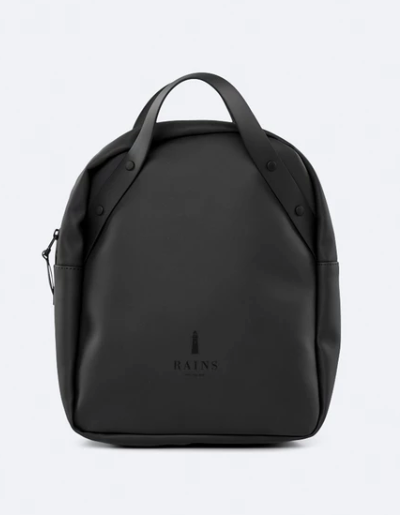 Black Waterproof Backpack for on the go