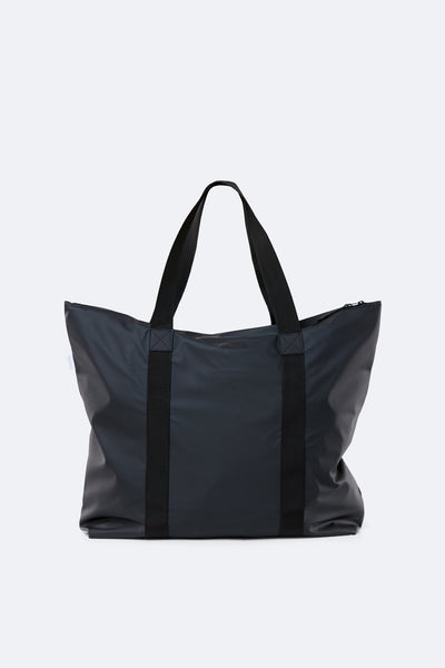 Waterproof Black Tote Bag