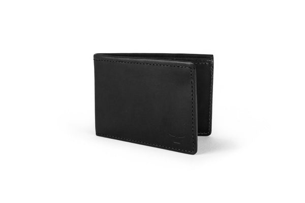 Sword & Plough Black Bi-Fold Wallet