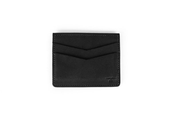 Sword & Plough Black Chevron Wallet