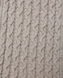 8 Cable Seed Stitch Scarf