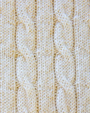 Americana Cable Throw Detail