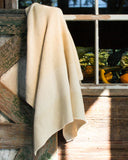 Awning Stripe Throw - Ivory/White
