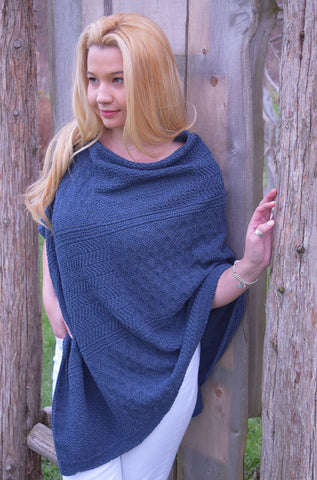 Patchwork Stitch Poncho