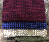 Woven Knit Stitch Throw