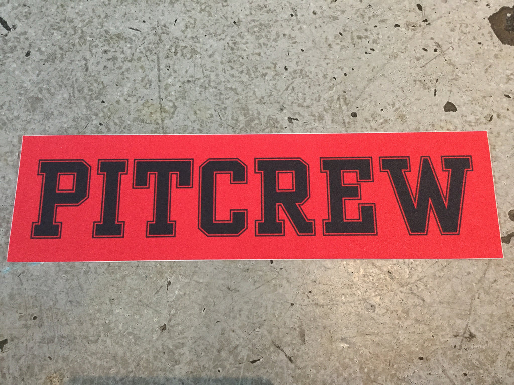 Pitcrew Griptape Red/Black