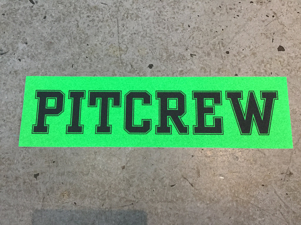 Pitcrew Griptape Neon Green/Black