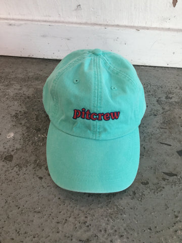 Pitcrew Dad Hat Aqua