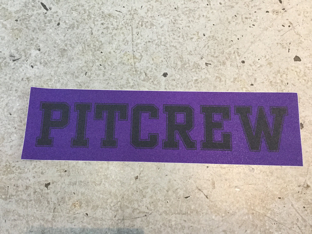 Pitcrew Griptape Purple/Black
