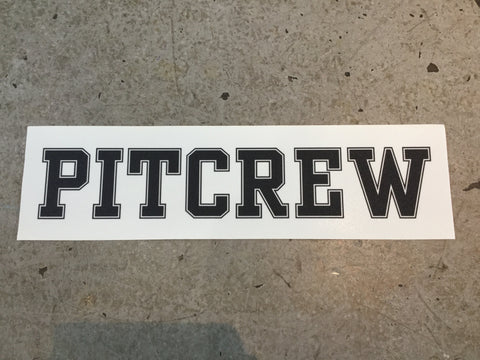 Pitcrew Griptape Clear/Black
