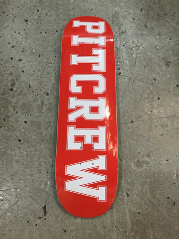 Pitcrew Shaped Deck 8.75