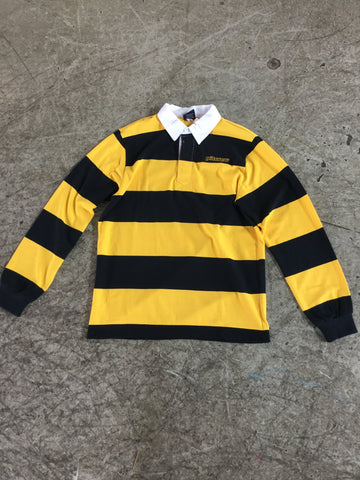 Pitcrew 121 Rugby Black/Yellow