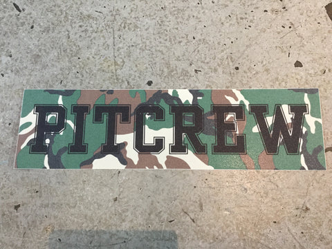 Pitcrew Griptape Camo/Black
