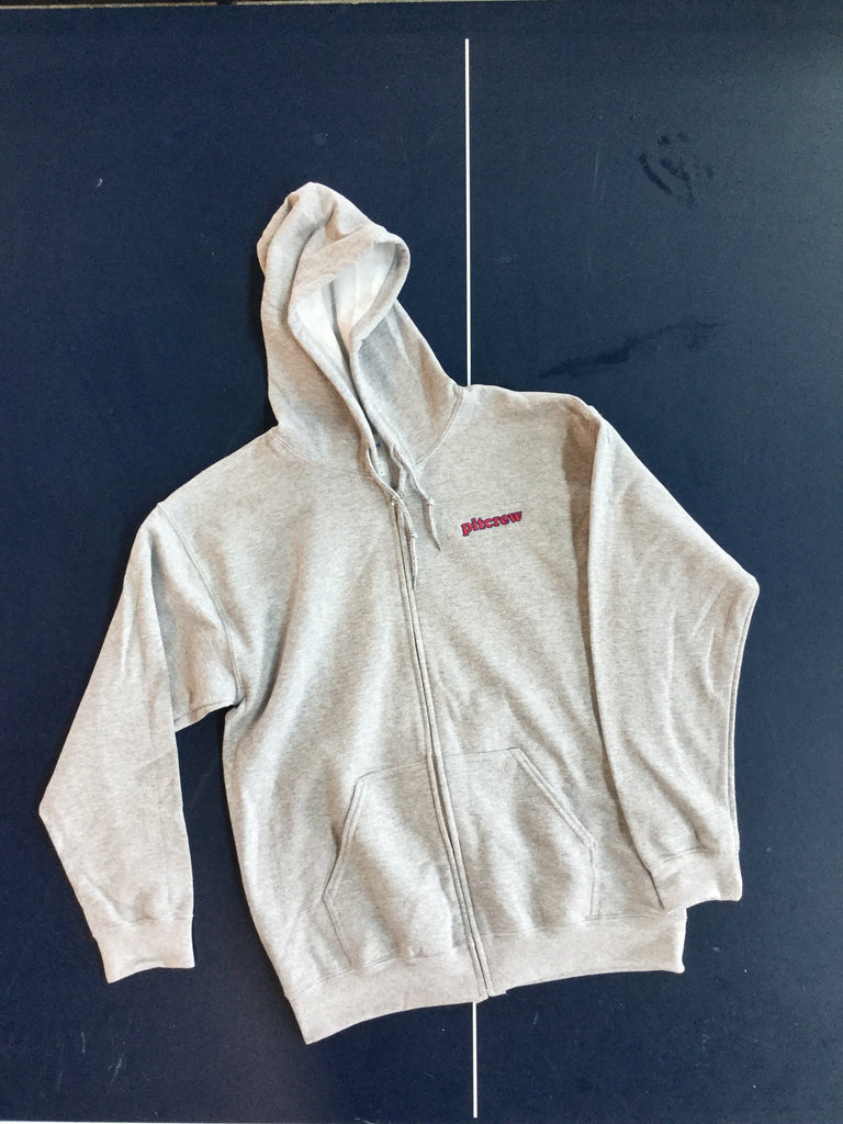 Pitcrew 121 Zip Hooded Sweatshirt Grey