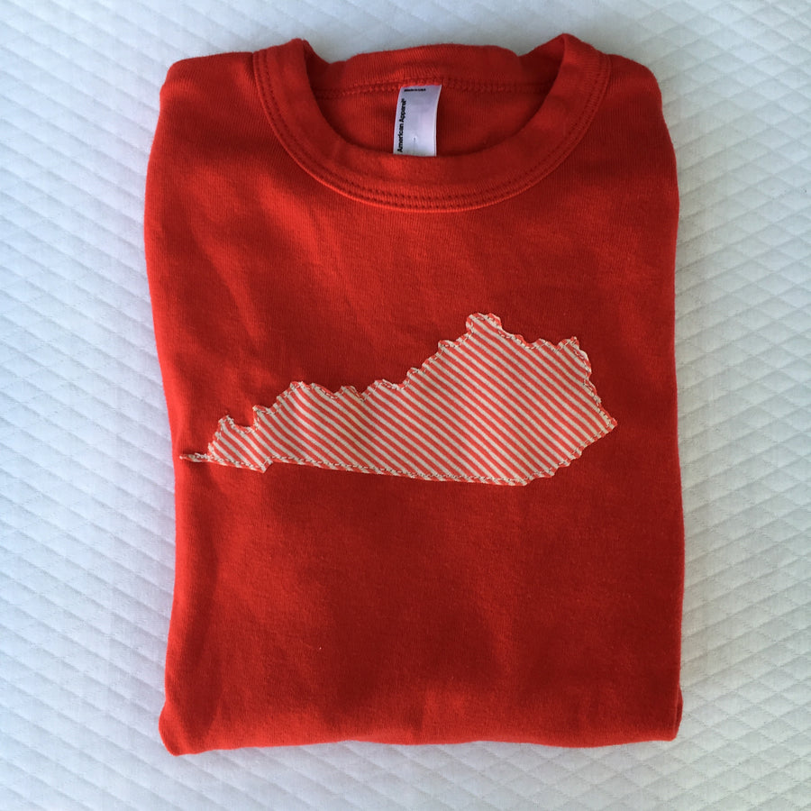 Kentucky Tee, size 10 youth, long sleeved