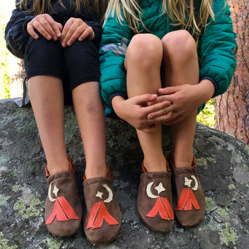 kids camp slippers