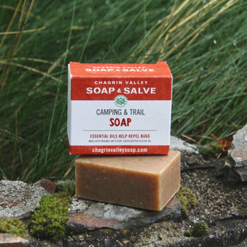 organic camp and trail soap bug repellent