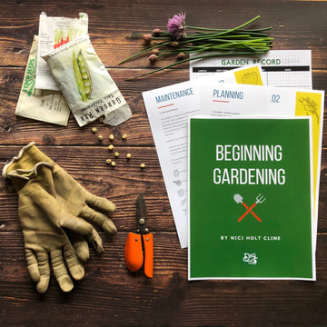 beginning gardening Digital guide