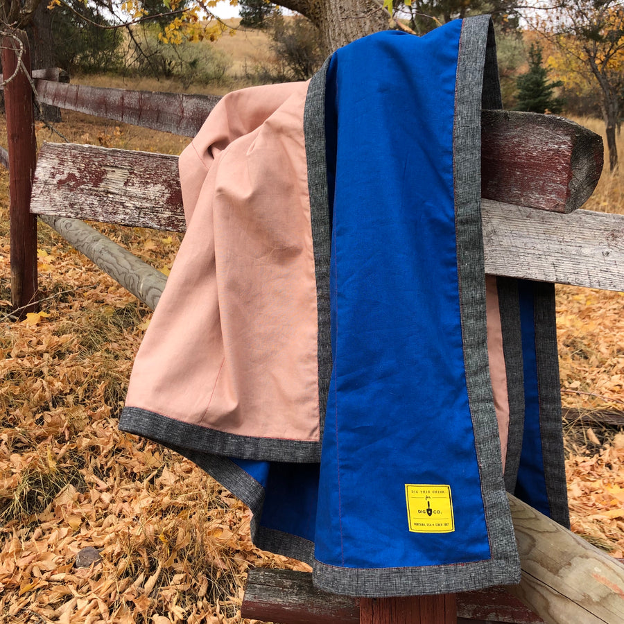 Linen Camp Blanket / Equinox