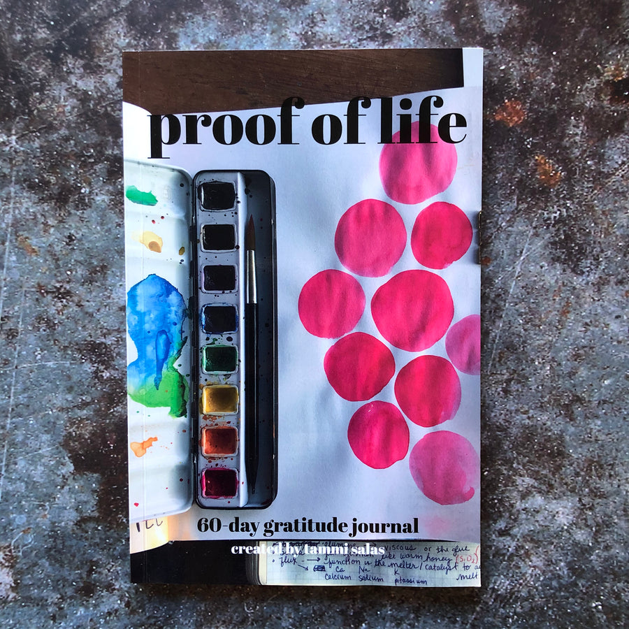 Proof of Life Gratitude Journal