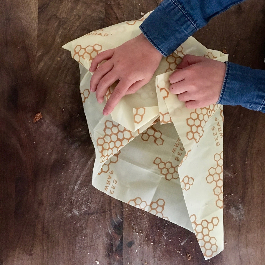 Bees wax Reusable Bread Wrap