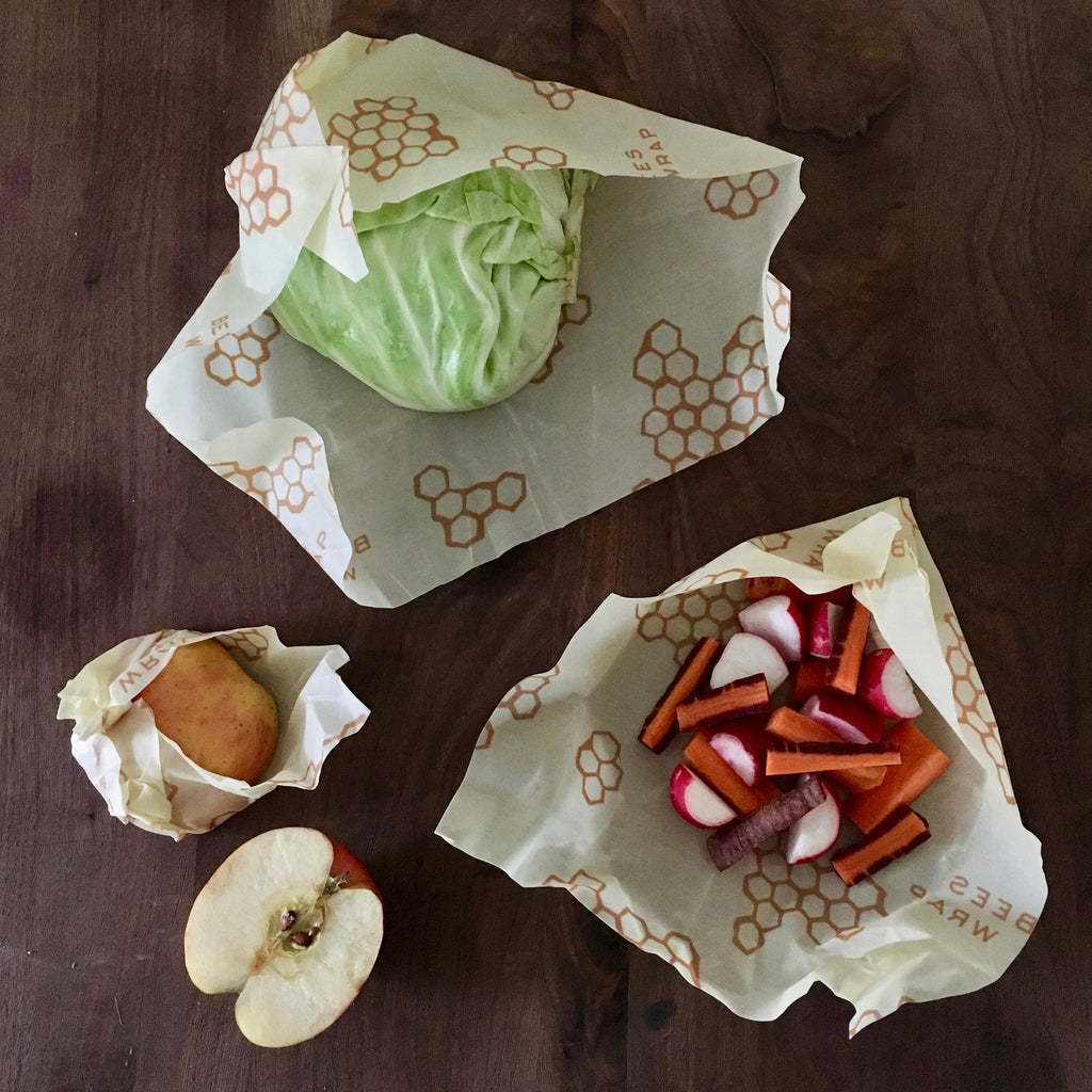 Beeswaxy Reusable Food Wrap / 3 Pack / *on backorder; will ship in May*