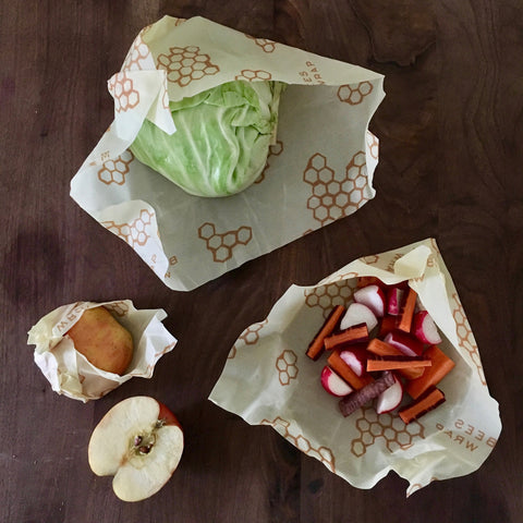 Beeswaxy Reusable Food Wrap / 3 Pack