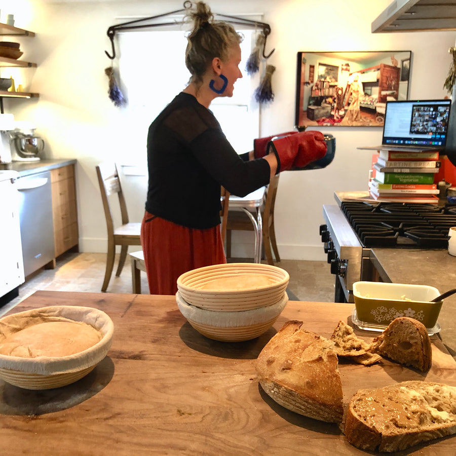 The Heart of Sourdough Bread Baking - digital live workshop