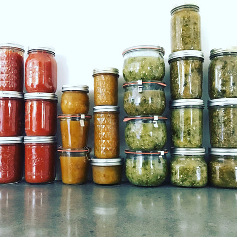 Preserving Harvest: A Canning Workshop / Oct 7, 2017 / 9a-12p