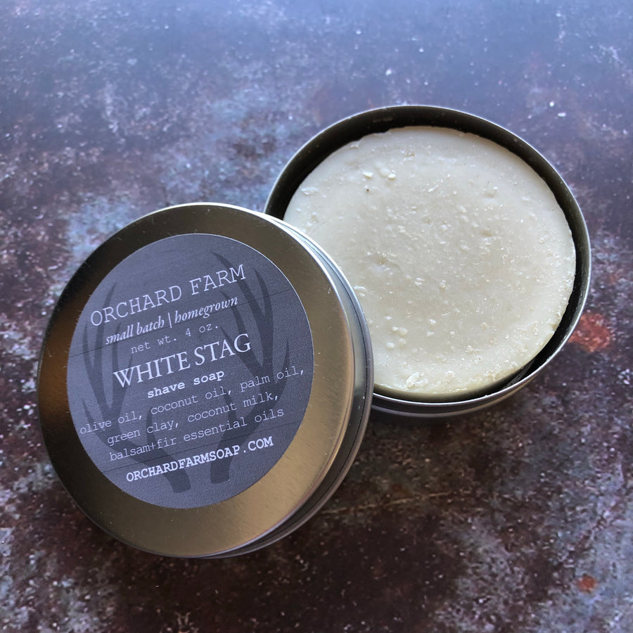White Stag Shave Soap