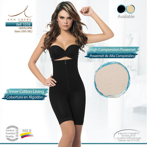 Geraldine Body Shaper (Black - NEW!) - iShapify - 1