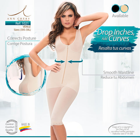 Venuz Body Shaper (Black / Beige - NEW!) - iShapify - 1