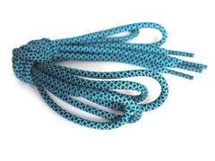Fat Lace Emerald Green Rope Laces Black/Emerald Green - 125cm