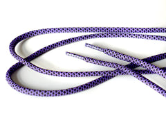 Fat Lace Purple Drank Rope Laces Black/Purple - 125cm