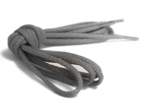 Fat Lace 3M Reflective Rope Laces Cool Grey/Grey- 125cm