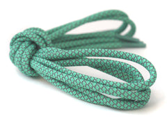 Fat Lace 3M Reflective Rope Laces Light Green/Grey - 125cm
