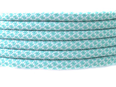 Fat Lace Ice Teal Rope Laces Teal/White  - 125cm