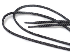 Fat Lace 3M Reflective Rope Laces Black/Grey- 125cm