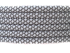 Fat Lace 3M Reflective Rope Laces White/Grey - 125cm