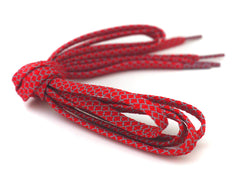 Fat Lace 3M Reflective Flat Laces Red - 125cm