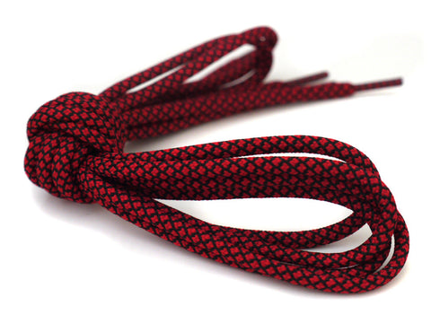 Fat Lace Toro Bravo Rope Laces Red/Black - 125cm