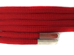 Fat Lace Yeezy Laces Red/Silver Tip - 125cm
