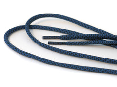 Rope Laces Charcoal & Blue - 125cm