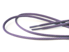 Fat Lace 3M Reflective Rope Laces Purple/Grey - 125cm